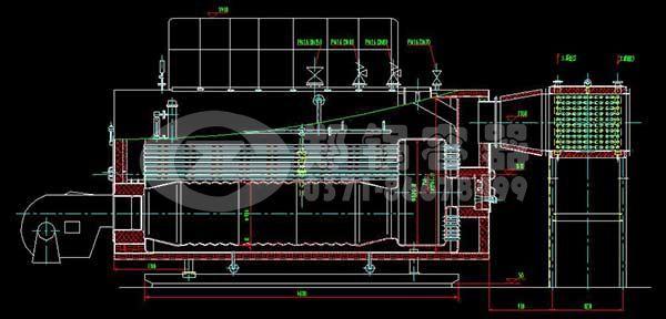 WNS燃气锅炉是采用机电一体的结构,外观大方、结构紧凑、空间占用少,运输方便,基建投资少,既遵循了节能环保理念,又满足了工程项目所需的热能;在生产使用上,该种类锅炉真正的做到了燃烧清洁、排放无污染、操作便捷、出力充足。 WNS燃油锅炉出厂时由三大部分组成:锅炉主机、烟囟及管路系统,其中主机和烟囟部分已在厂内制造完毕,主机所配套的管路阀门、仪表已随机装妥,运至现场将主机和烟囟组装即可。现场接通气源、电源、水管路即可试车。大大缩短了安装周期,且可保证产品质量。 WNS燃油燃气锅炉的燃料由外界气源进入燃烧器通过